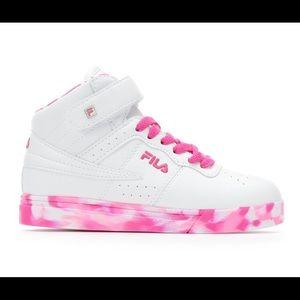 Fila Shoes   9 Fila Pink Camo Sneakers